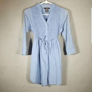 1955 Vintage Chambray Dress D23